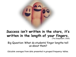 The future isn't in the stars, it's in your finger