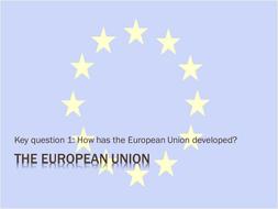 Origin of the EU and EU institutions