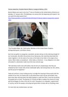 Studying Speeches: Obama Inauguration 2013