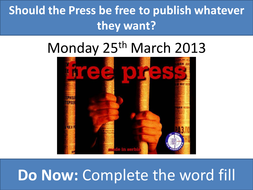 Should Freedom of Press be Absolute?