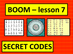 Boom scheme of work - lessons 7-10