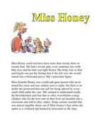 Miss Honey and Miss Trunchbull descriptions.docx