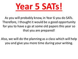SATs Prep