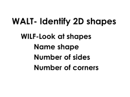 WALT- Identify 2D shapes.pptx