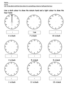 5.2.13 marking the time on a clock.doc