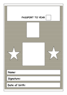 Passport to year....