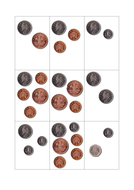 Same amount, different variation money cards