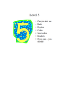 who wants to be a level 5