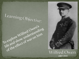 Lesson 2 - Wilfred Owen background.ppt