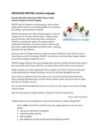 IMPROVING WRITING: Emotive language (UNICEF DfC)