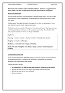 Controlled Assessment May 2013 Checklist