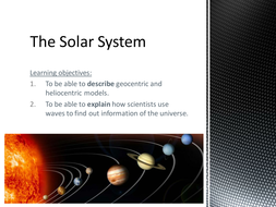 Introduciton to the solar system