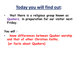 Quaker introduction