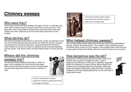 Chimney sweep information text