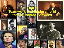 Team Work and Leadership