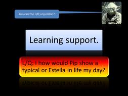 Showing Pip/Estella your world