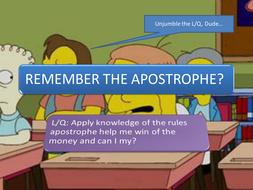 Apostrophe Revision