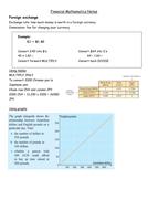 IB financial Math