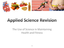 AQA Applied 1.2 - Health and Fitness Revision Quiz