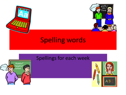 Spelling words.pptx