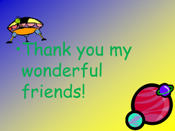 Alien_letter thank you we are home.ppt