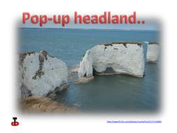 3D 'pop-up' Headland