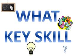 Key Skills Poster