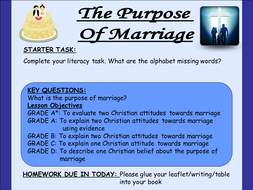 LESSON 9. purpose of marriage AFL.ppt