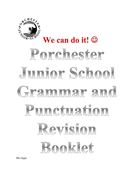 SPAG- Spelling, Punctuation and Grammar