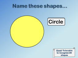 Name These Shapes...