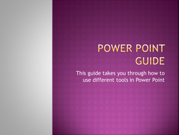PowerPoint Guide