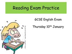 WJEC reading exam practice