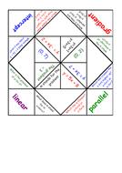 y=mx+c fortune teller.docx