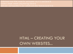 HTML – Creating your own websites.pptx