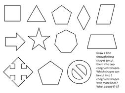 Congruent Cuts - starter
