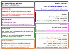 L5 Frameworks for Analysing Talk in Life and Literature.doc
