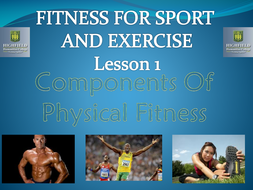 Components of Health Related Fitness PowerPoint