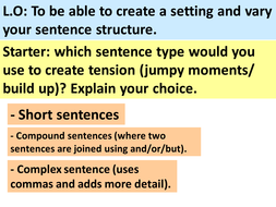 lesson 4 - setting and sentence structure.ppt