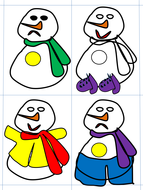 Snowmen with Hats