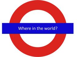 Starter or quick activity - London Underground