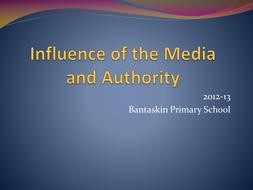 Influences of media on authority