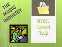 BTEC Unit 1: Music Industry