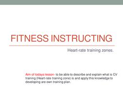 CV training zones.