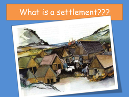 Settlements - start and role play