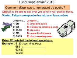 Comment depenses-tu ton argent de poche?