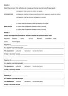 Adaptations worksheet - Lower ability/SEN
