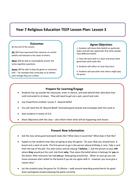 Year 7 Lesson 3 Lesson Plan.doc