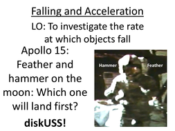 A lesson on falling and acceleration (+inertia)