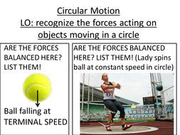 Circular Motion lesson