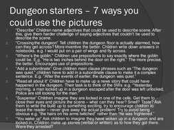 Dungeon Literacy Starters